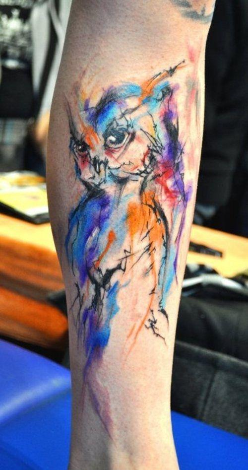 tatuajes de acuarela 4