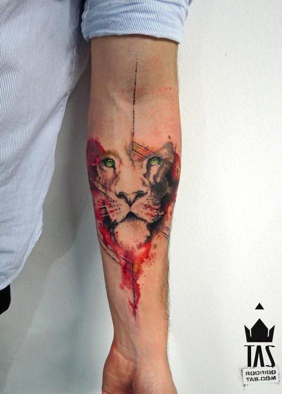 tatuajes de acuarela 5