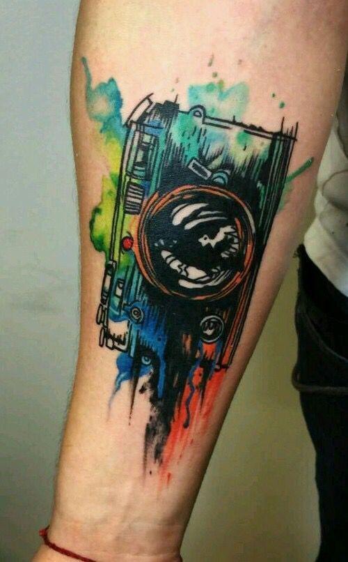 tatuajes de acuarela 12