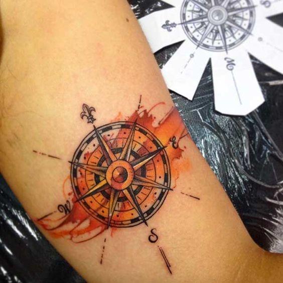 tatuajes de acuarela 16