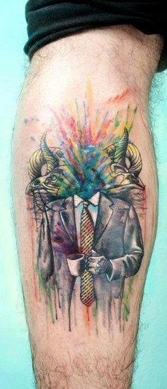 tatuajes de acuarela 17