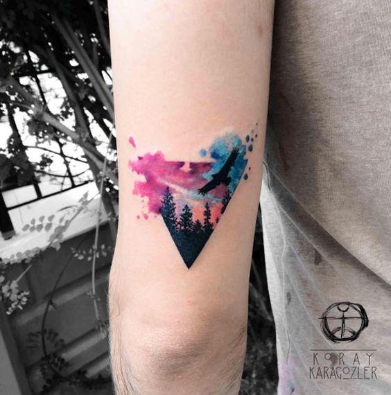 tatuajes de acuarela 20