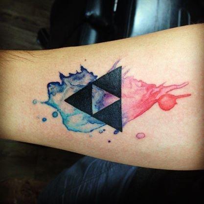 tatuajes de acuarela 21