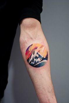 tatuajes de acuarela 23