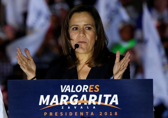 margarita zavala inicia su campana electoral 1