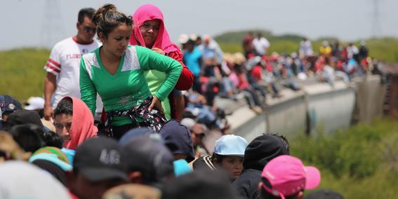 INM rescata a 136 migrantes en Veracruz