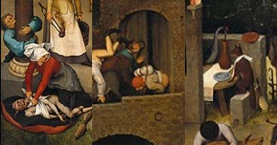 jokes hidden in ancient works of art 2