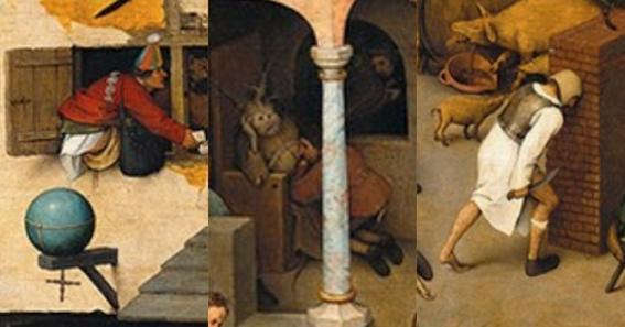 jokes hidden in ancient works of art 3