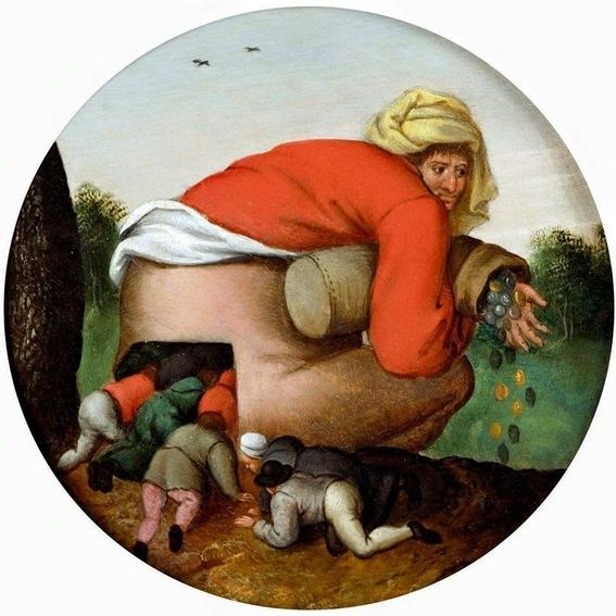 jokes hidden in ancient works of art 4