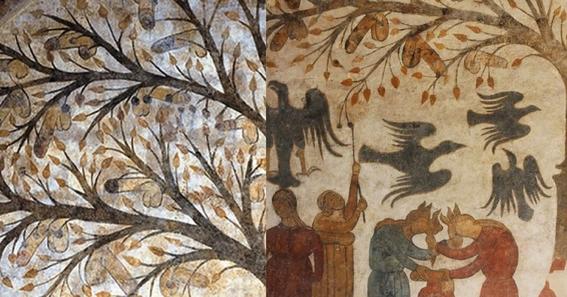 jokes hidden in ancient works of art 6