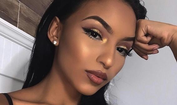 maquillaje para piel morena 3
