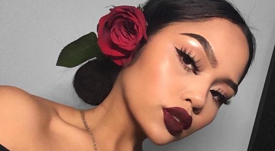 maquillaje para piel morena 7