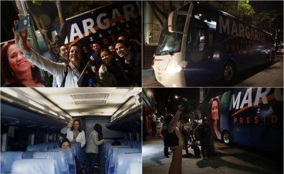 margarita zavala estrena autobus 1
