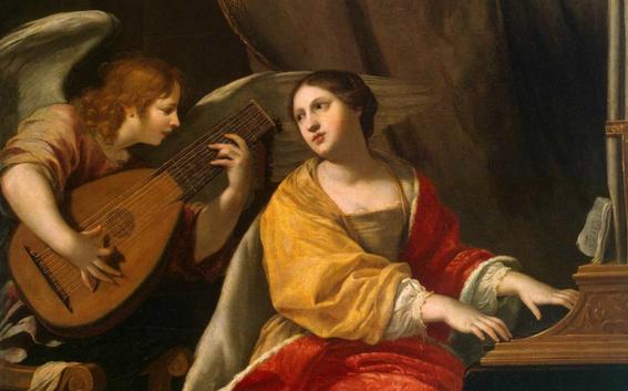 santa cecilia patrona de la musica 2