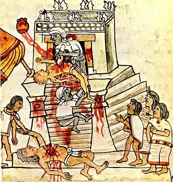 sacrificios humanos prehispanicos 1