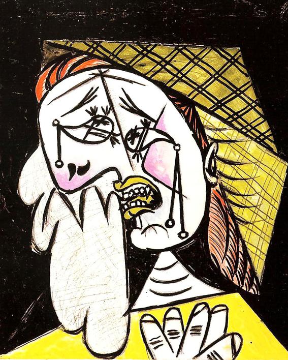10 obras de Picasso que muestran el brutal sufrimiento de las mujeres durante la guerra