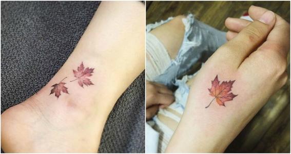 tatuajes pequeños a color 8