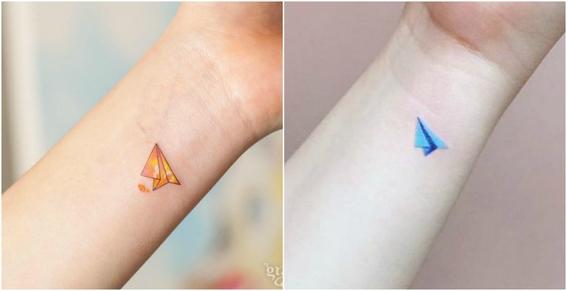 tatuajes pequeños a color 11