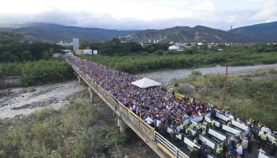 la catastrofe migratoria se agudiza entre colombia y venezuela 1