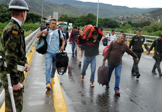 la catastrofe migratoria se agudiza entre colombia y venezuela 2