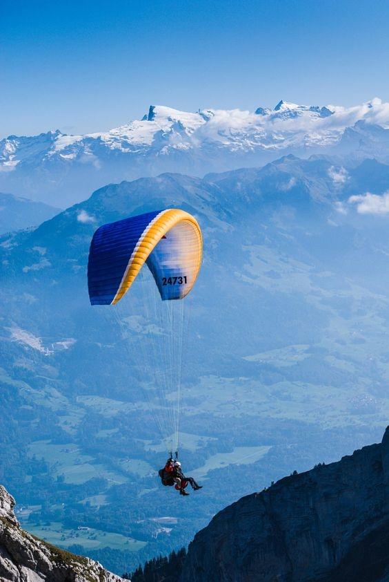 Los 7 lugares ideales para volar en parapente en México