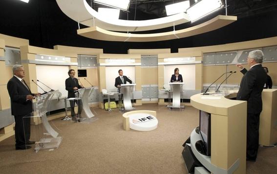 debates presidenciales de las elecciones en mexico 1