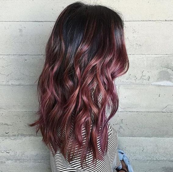 chocolate mauve hair color 4