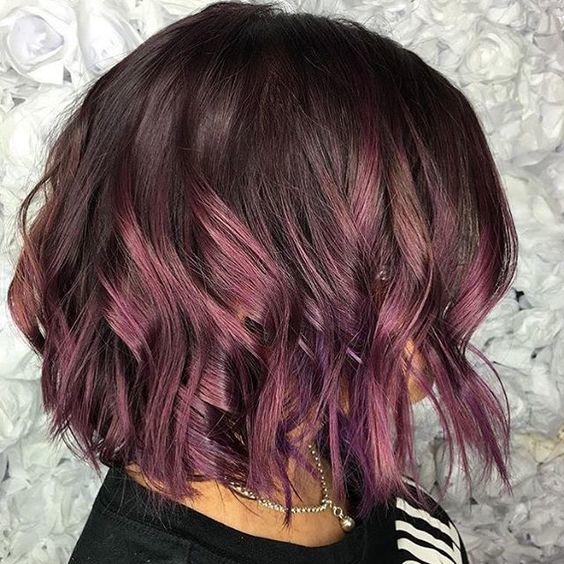 chocolate mauve hair color 2