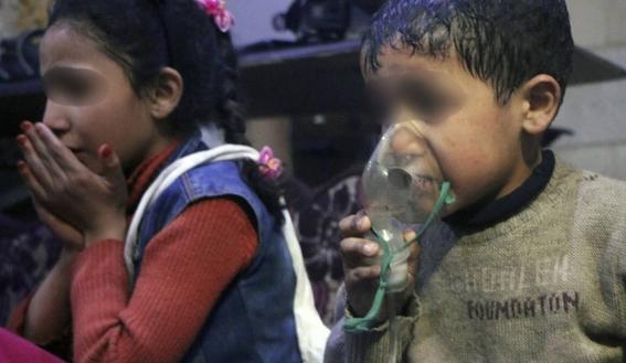 muertos tras ataque quimico en siria 1