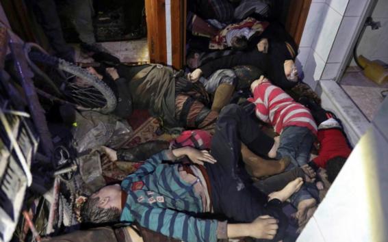 muertos tras ataque quimico en siria 3