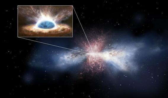 miles de hoyos negros rodean nuestra galaxia 1
