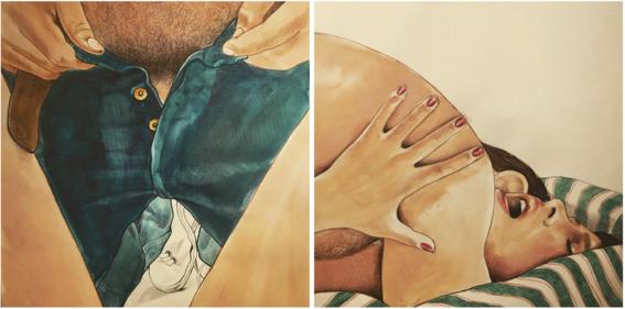 ilustraciones eroticas de frida castelli 2
