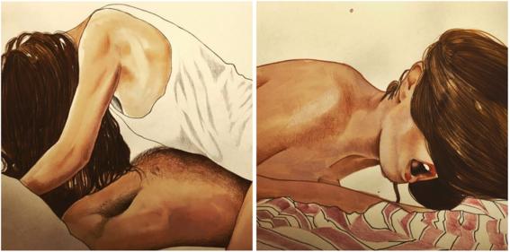 ilustraciones eroticas de frida castelli 5