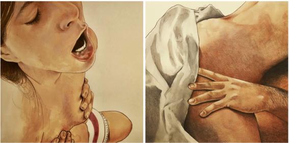 ilustraciones eroticas de frida castelli 9