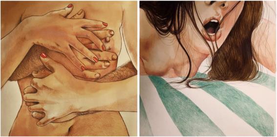 ilustraciones eroticas de frida castelli 8