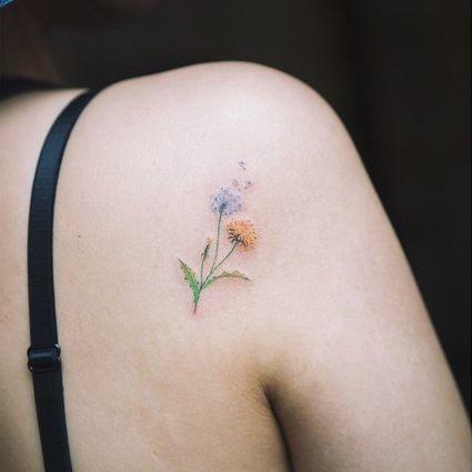 small flower tattoos 17