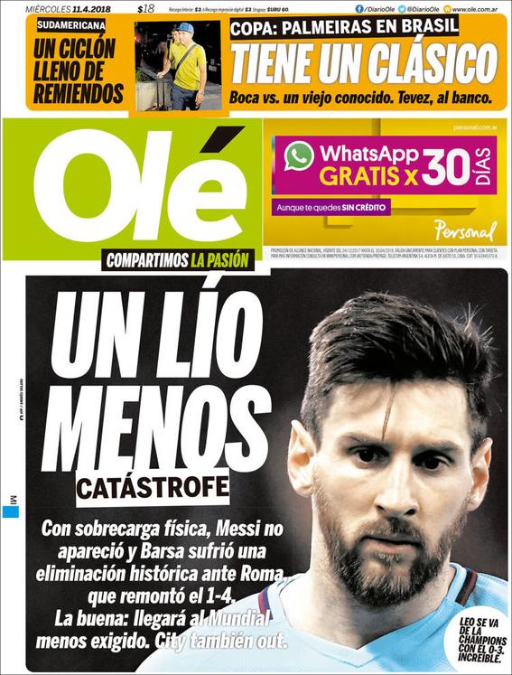 eliminacion del barcelona en la champions league 5