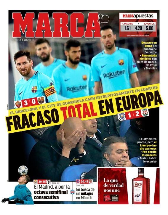 eliminacion del barcelona en la champions league 4