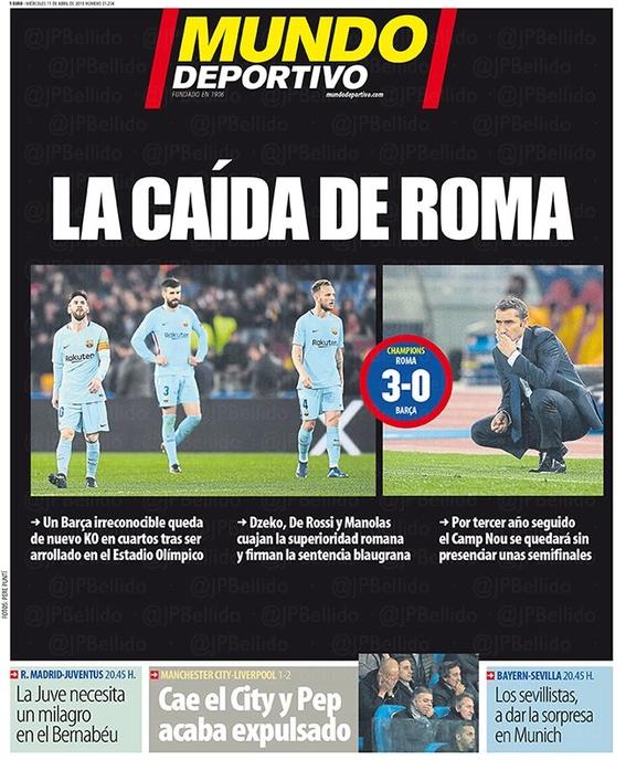 eliminacion del barcelona en la champions league 3