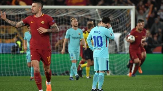 eliminacion del barcelona en la champions league 1