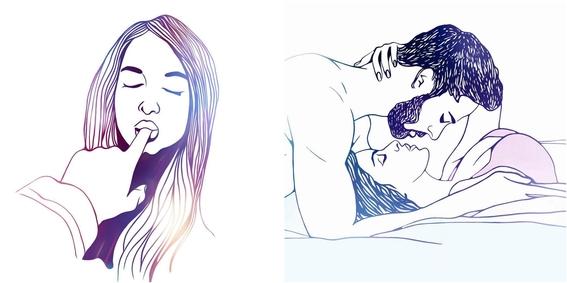 ilustraciones minimalistas de love me paris 1