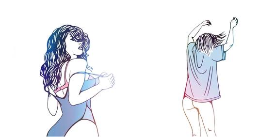 ilustraciones minimalistas de love me paris 3