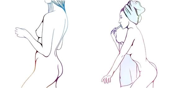 ilustraciones minimalistas de love me paris 6
