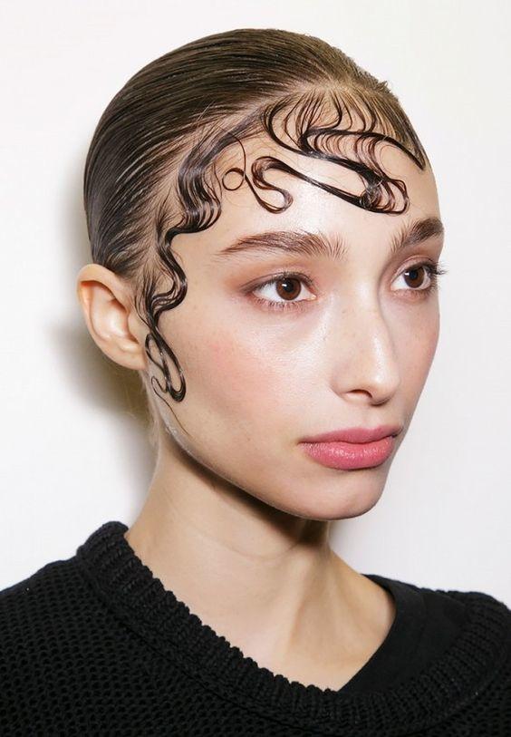 peinados wet hair 6