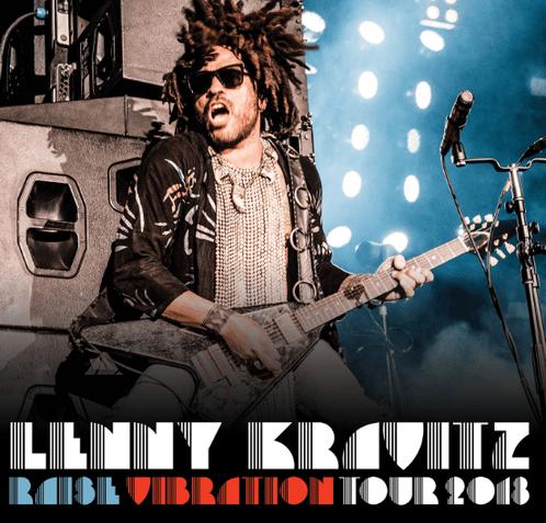 lenny kravitz raise vibration tour 2018 1