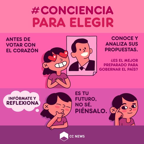 conciencia para elegir voto 1
