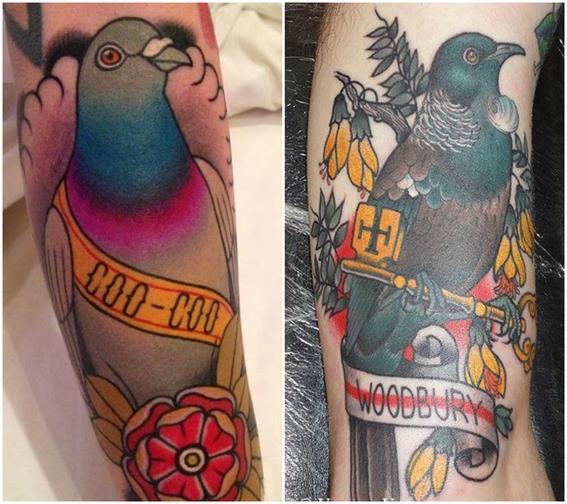 tatuajes de aves 10