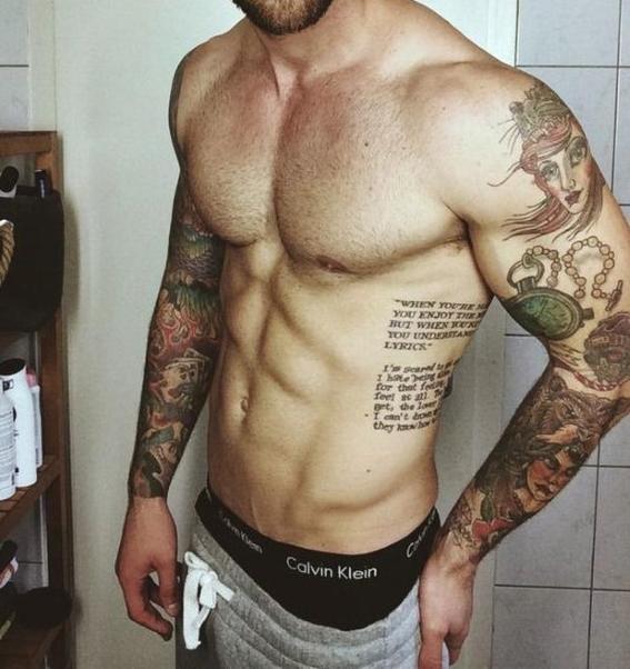 tatuajes en los oblicuos 1