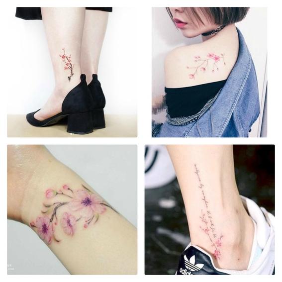 tatuaje cherry blossom 5