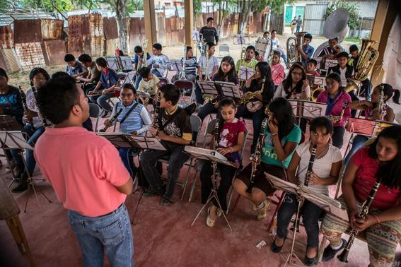 Escuela de música en un basurero de Oaxaca 4